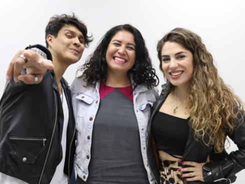 Mira la entrevista exclusiva de Periko y Jessi León