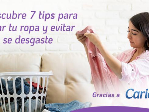 7 tips para lavar correctamente tu ropa y evitar que se desgaste