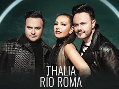 ¡Al fin juntos! Río Roma y Thalía estrenan su nuevo sencillo 'Lo siento mucho'