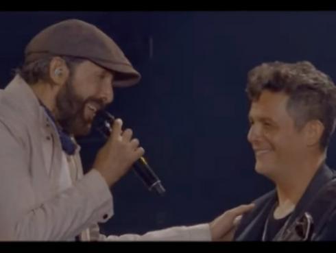 Revive esta colaboración entre Alejandro Sanz y Juan Luis Guerra