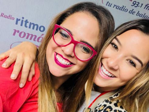 Alessandra Fuller se convirtió en 'Cómplice' por un día de Sandra Muente