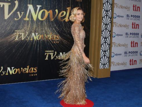 Angelique Boyer, actriz de 'Amar a muerte', confiesa que le gustaría trabajar en el Perú