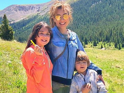 Así Thalía y su familia disfrutan de la naturaleza