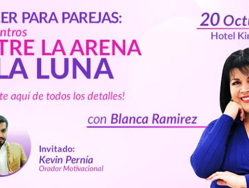 Blanca Ramirez presenta el taller para parejas en los 'Encuentros Entre la Arena y la Luna'