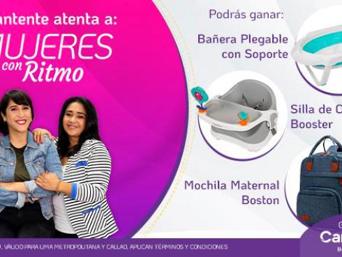Carestino regala una bañera, silla y mochila para bebés a los oyentes de Ritmo Romántica