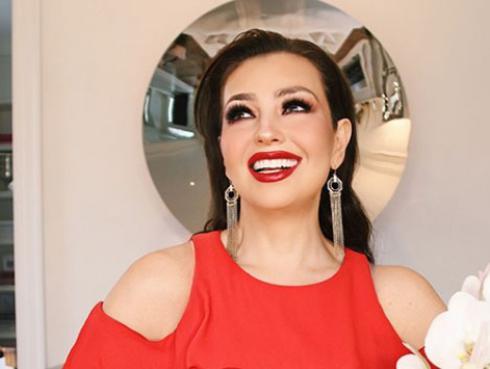 ¿Cómo se ve Thalía sin maquillaje?