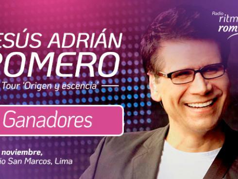 Conoce a los ganadores de entradas para el concierto de Jesús Adrián Romero