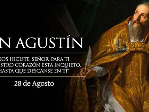 ¡Conoce un poco más de San Agustín!