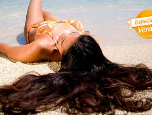 Crema casera para proteger tu cabello del sol en verano