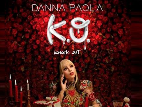 Danna Paola arrasa globalmente con el debut de su nuevo álbum 'K.O'