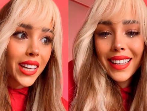 Danna Paola estrenó de emergencia su disco 'K.O'