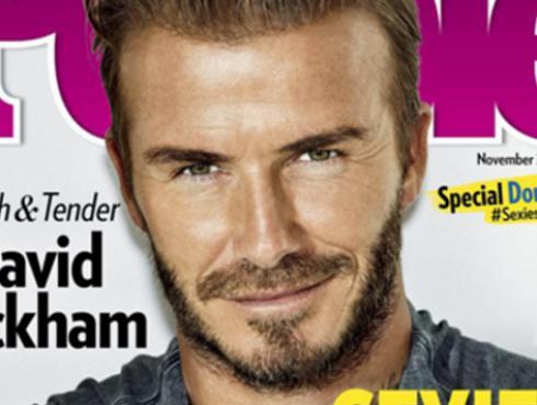 David Beckham es 'el hombre más sexy del 2015', según People
