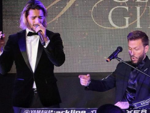Maluma reunió a Noel Schajris y Reik en gala benéfica