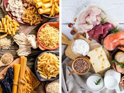 ¿Quieres bajar de peso? Empieza por reconocer las diferencias entre carbohidratos y proteínas