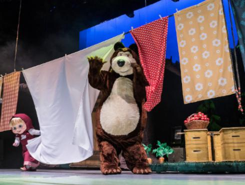 El show infantil más visto mundialmente 'Masha y el Oso 2018' llega a Lima