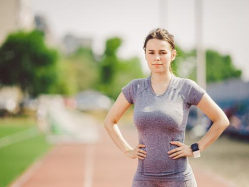 El tamaño de los senos influye a la hora de hacer ejercicios