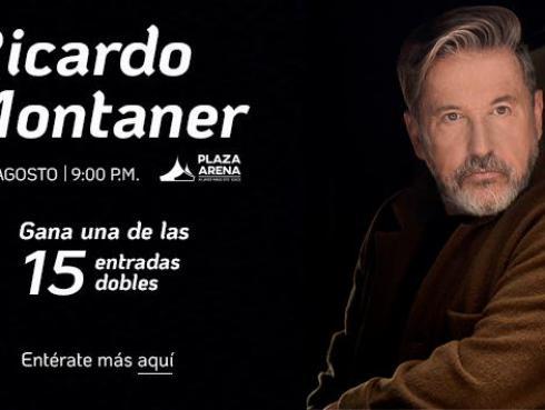 Gana entradas dobles para el concierto de Ricardo Montaner