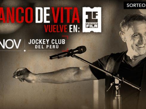 ¡Salieron los ganadores de entradas para Franco de Vita!