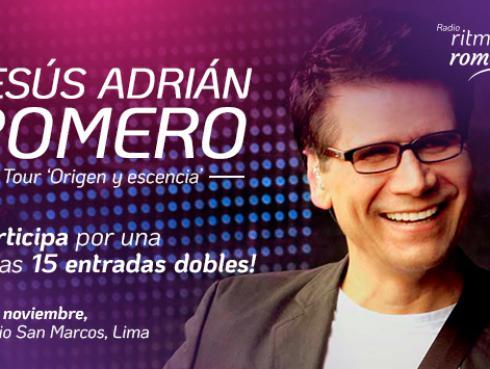 Gana entradas para el concierto de Jesús Adrián Romero