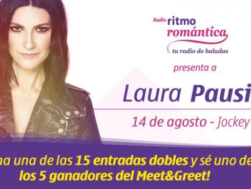 Gana entradas dobles  para el concierto de Laura Pausini en Lima
