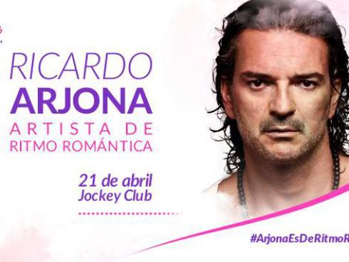 Gana entradas para el concierto de Ricardo Arjona en Lima