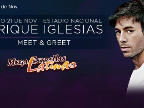 Gana entradas y 5 encuentros exclusivos para ver a  Enrique Iglesias