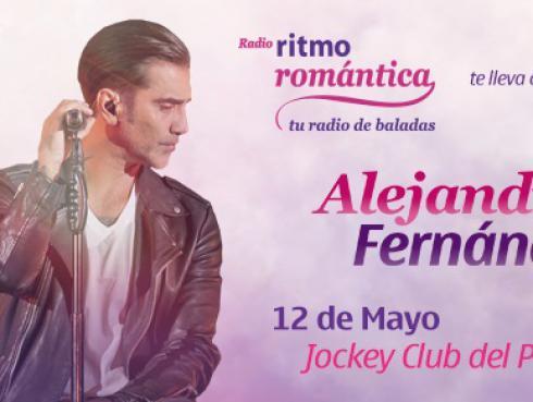 Gana una de las 10 entradas dobles para el concierto de Alejandro Fernández en Lima