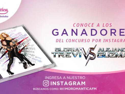 Ganadores de entradas para el concierto de Alejandra Guzmán y Gloria Trevi