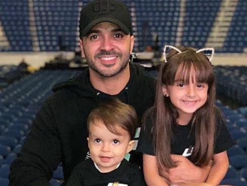Hijos de Luis Fonsi lo sorprendieron en el Día del Padre