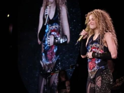 Hijos de Shakira apoyaron a la selección de Colombia