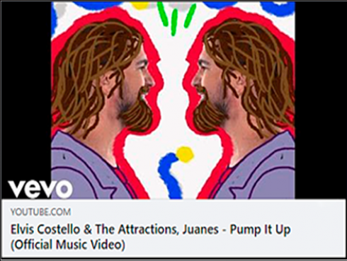 """Juanes Se Une A Elvis Costello & The Attractions En La Recién Estrenada Versión En Español De  """"Pump It Up"""""""