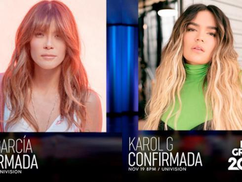 Kany García y Karol G se presentarán en los Latin Grammy 2020