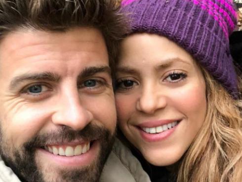 Las románticas vacaciones de Shakira y Piqué