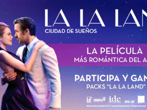 Ganadores de entradas para la película y packs 'La La Land'