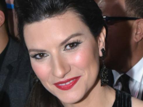 Así fue la llegada de Laura Pausini a Lima