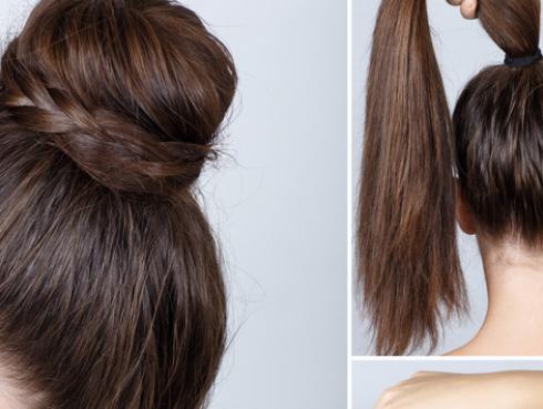 Los moños tomate, la nueva tendencia para el cabello