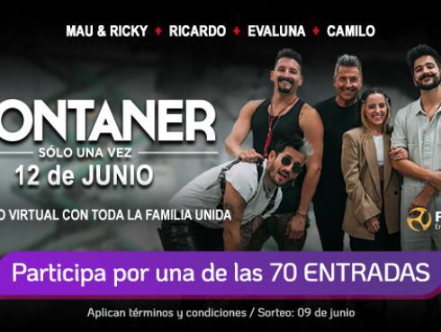 Los Montaner, solo una vez: ¡Participa por tu entrada!