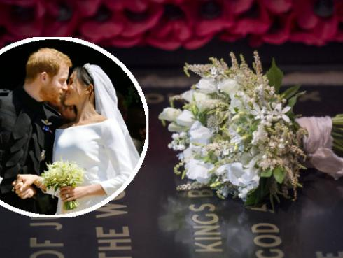 Los secretos del bouquet real de Meghan Markle, la esposa del Príncipe Harry