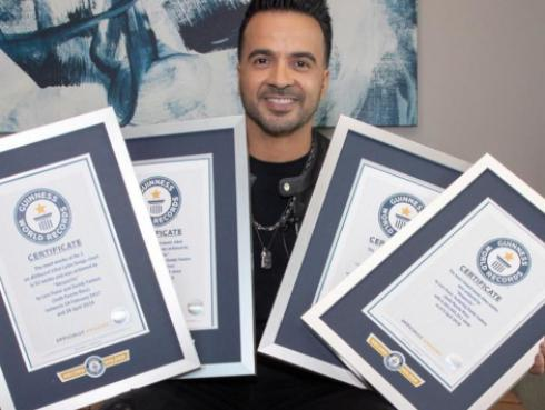 Luis Fonsi rompió 7 récords Guinness con 'Despacito'