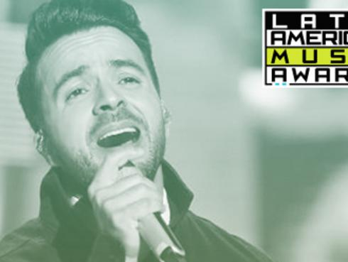 Luis Fonsi consigue 5 nominaciones en los Latin American Music Awards 2017