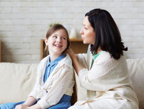 María Pía en su rol de madre: Tú eliges cómo criar a tus hijos