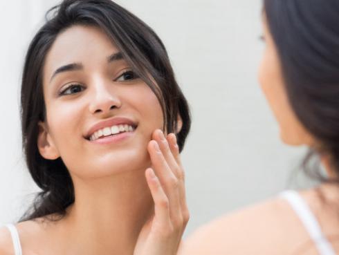 Mascarilla de oro para eliminar líneas de expresión y acné