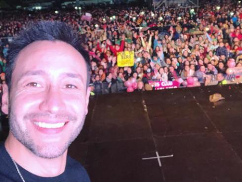 Luciano Pareyra estrena video de 'Me gusta amarte'