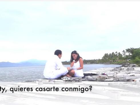 ¡Mira esta propuesta de matrimonio que sorprendió en las redes sociales! (VIDEO)