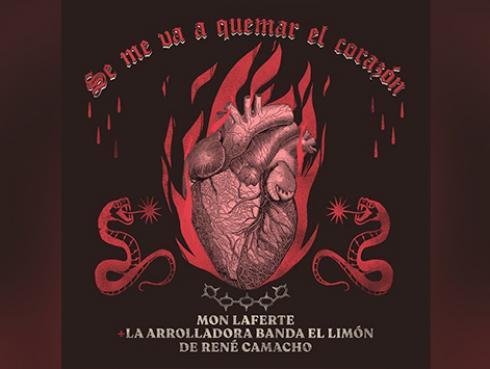 Mon Laferte estrena nueva versión de 'Se me va a quemar el corazón'
