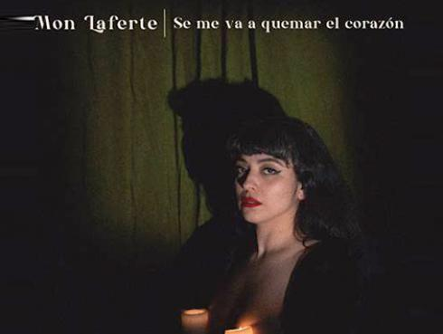 """Mon Laferte estrenó  """"Se me va a quemar el corazón"""""""