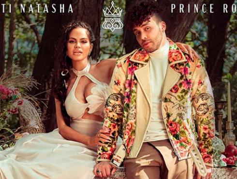 Natti Natasha y Prince Royce estrenaron 'Antes que salga el sol'