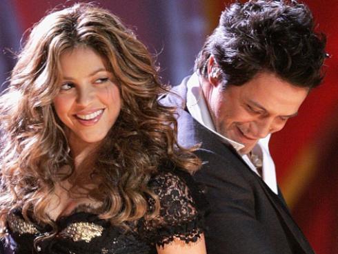 Shakira celebra lanzamiento de Alejandro Sanz