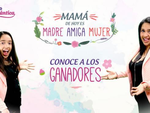 Ganadores de  'Mamá de hoy es 'Madre, Amiga Mujer''