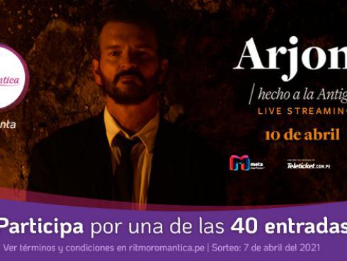 Participa por un acceso al live Streaming de Ricardo Arjona